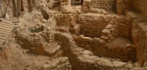 Escavações arqueológicas dos Corte Real (futuro Núcleo Fenício)
